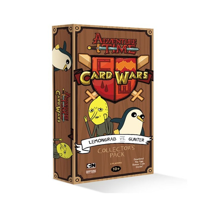 Adventure Time - Card Wars: Lemongrab vs Gunter