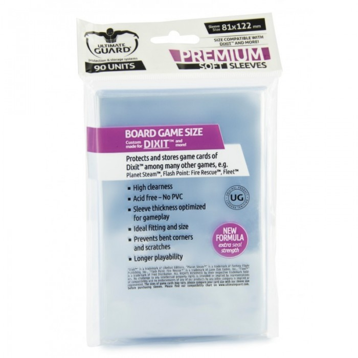 Ultimate Guard 90 Protectores 81 x 122 mm