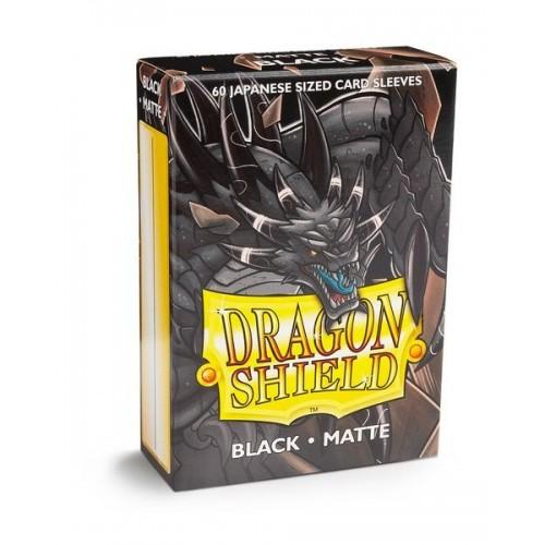 Dragon Shield Matte 60 Japanese Sized Black
