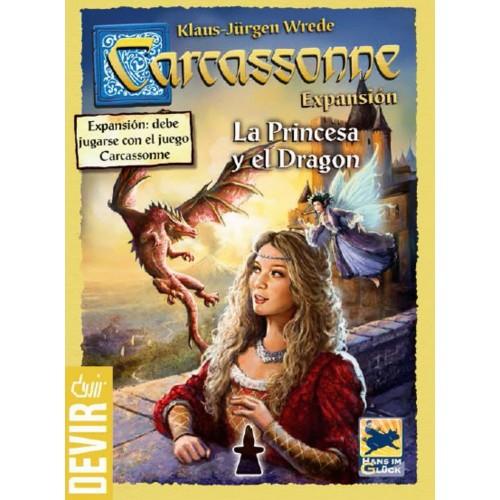 Carcassonne La Princesa y el Dragón